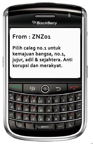 Gambar SMS Pilkada 1